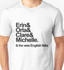 Camiseta ajustada Derry Girls Text