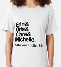 Derry Girls Text Slim Fit T-Shirt