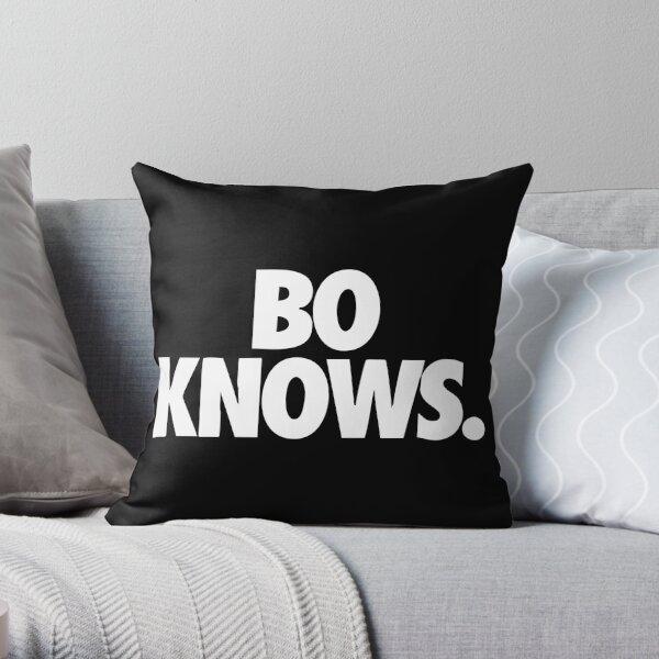 Bo Knows Throw Pillow