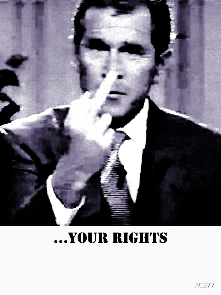 George W. Bush gives the finger by ACE77
