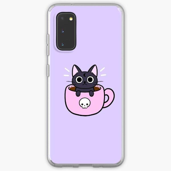Pastel Coffee Cat Samsung Galaxy Soft Case