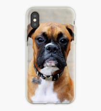 Boxer-Porträt - Boxer-Hundeserie iPhone-Hülle & Cover