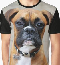 Boxer-Porträt - Boxer-Hundeserie Grafik T-Shirt