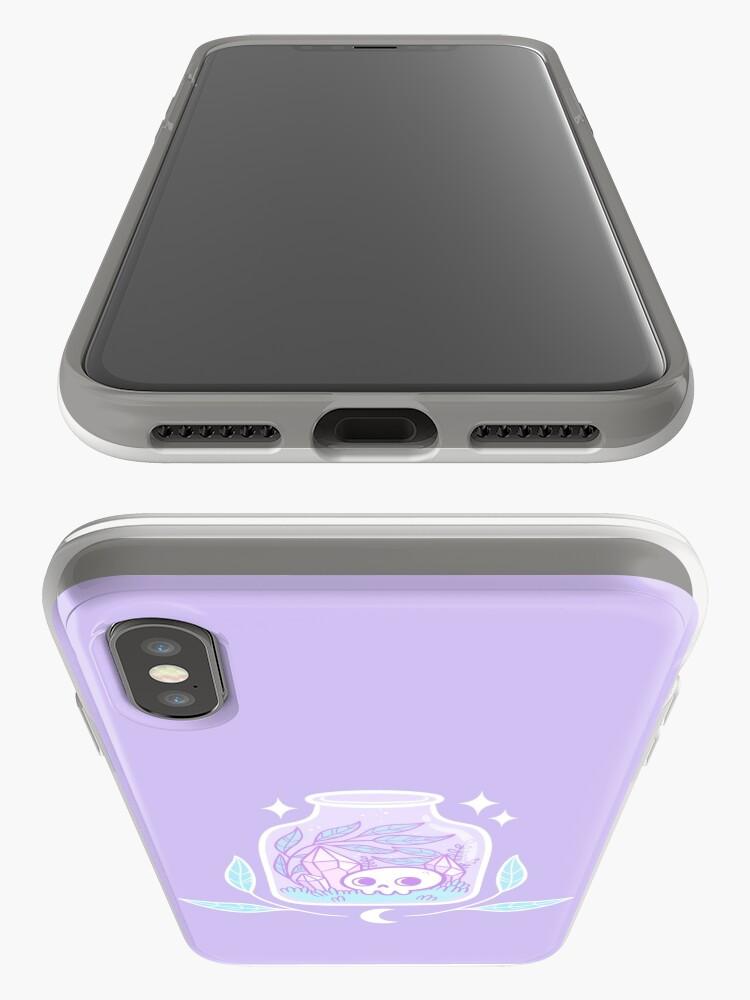 Vista alternativa de Vinilos y fundas para iPhone Terrario Pastel