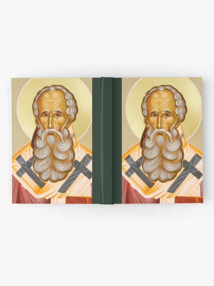 Alternate view of St Athanasios the Great Hardcover Journal