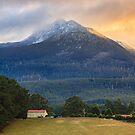 Early Morning, Mountain River, Tasmania #6 by Chris Cobern