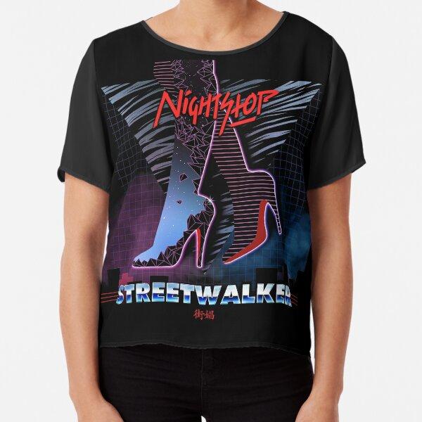 NightStop - Streetwalker Chiffon Top