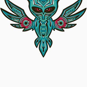 Subwoofer Owl  by DazzaW