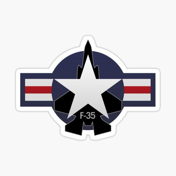 F-35 Lightning II Military Fighter Jet Sticker