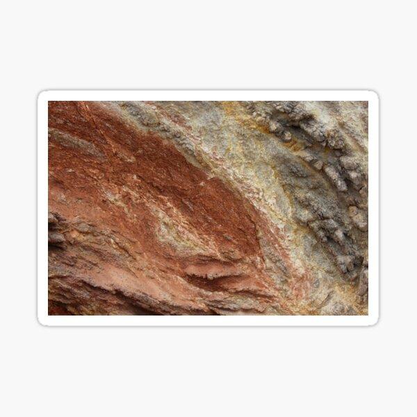 Colorful Rock Texture Ibiza Sticker
