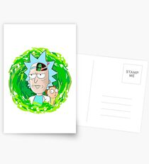 Rick and Morthy  Postcards