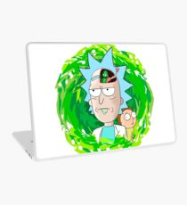 Rick and Morthy  Laptop Skin