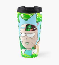 Rick and Morthy  Travel Mug