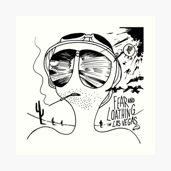 Fear and Loathing in Las Vegas Impression artistique