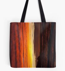 When the sky turns Tote Bag