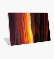 When the sky turns Laptop Skin