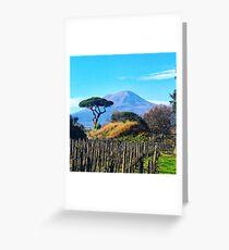 Vesuvius Greeting Card