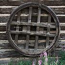 Wheel Wall by Bernadette Watts
