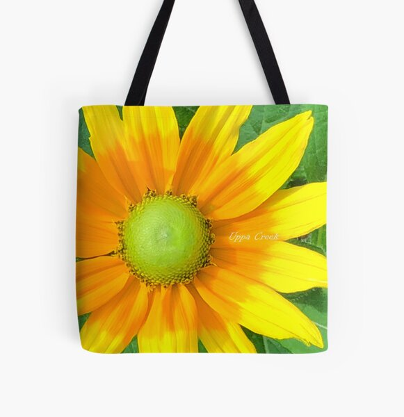 Who loves yellow? by Uppa Creek Art All Over Print Tote Bag