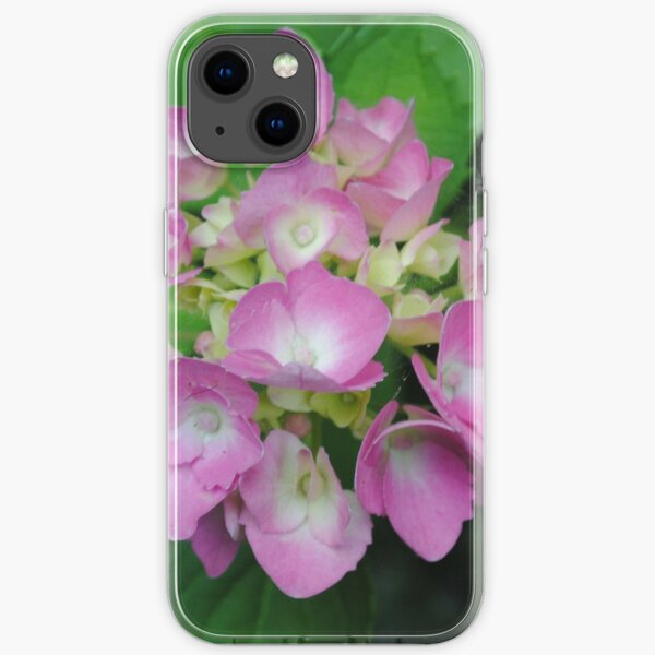 pink blooms iPhone Soft Case