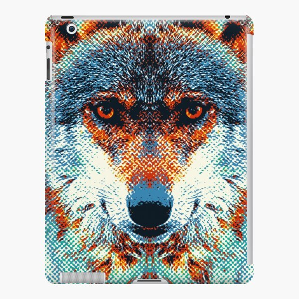 Wolf - Colorful Animals iPad Snap Case
