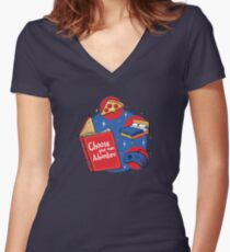 Indoor Adventures Fitted V-Neck T-Shirt