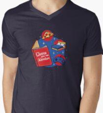Indoor Adventures V-Neck T-Shirt