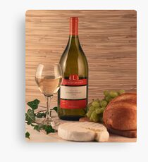 Bread, Wine and Cheese Canvas Print