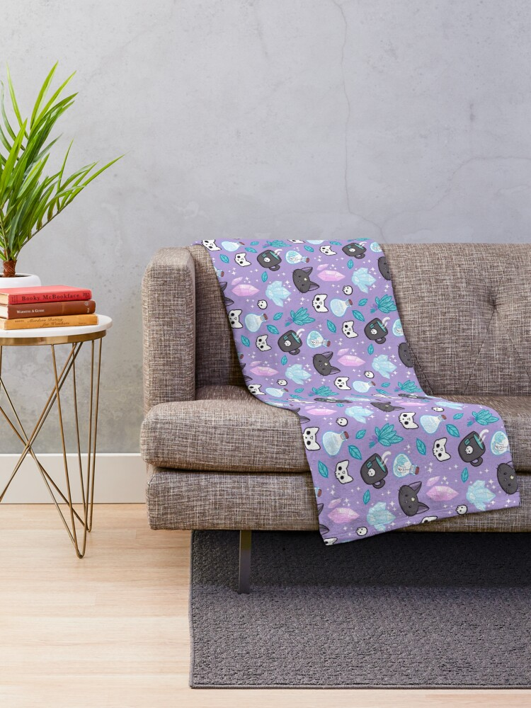 Alternate view of Herb Witch | Nikury Throw Blanket
