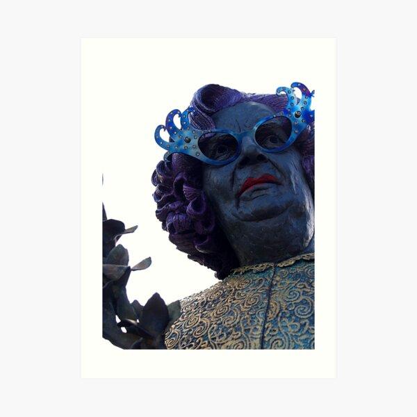 Dame Edna Art Print