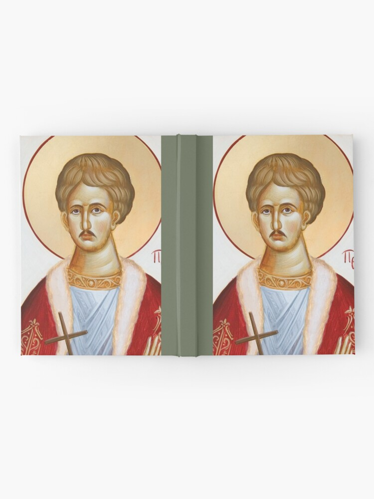 Alternate view of St Chrestos of Preveza the New Martyr Hardcover Journal