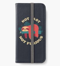Not Fast, Not Furious iPhone Wallet/Case/Skin