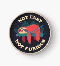 Not Fast, Not Furious Clock