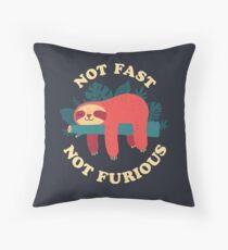 Not Fast, Not Furious Floor Pillow