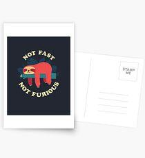 Not Fast, Not Furious Postcards