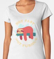 Not Fast, Not Furious Premium Scoop T-Shirt