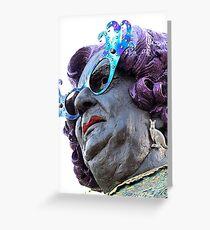 Dame Edna II Greeting Card
