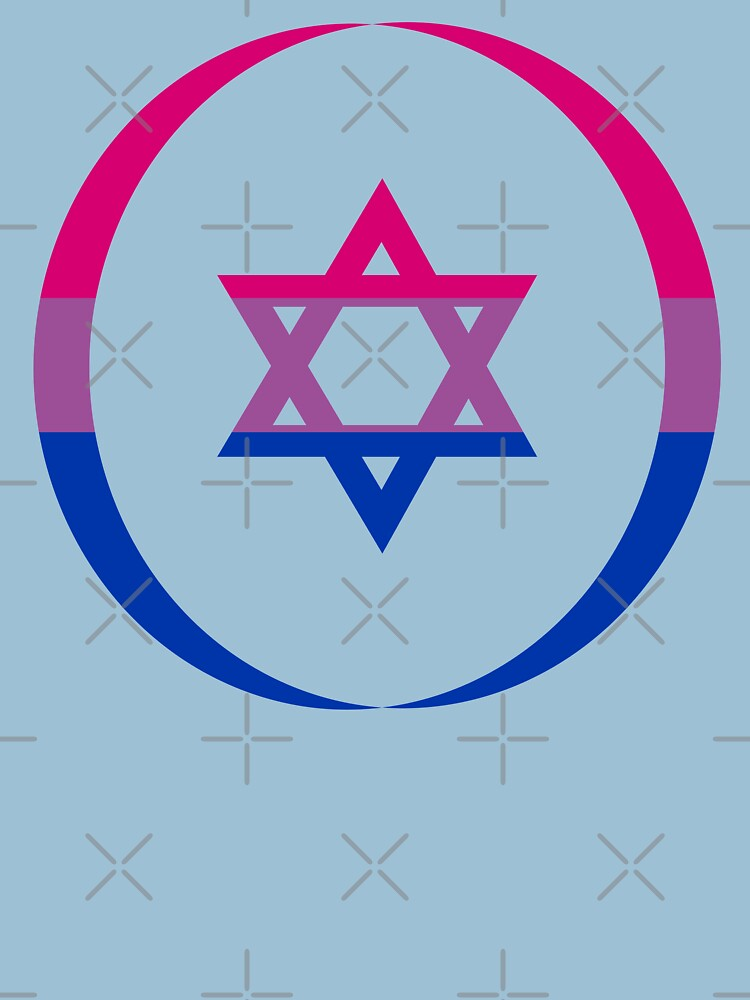 Jewish (Blue, Pink, White) Third Culture Series by carbonfibreme