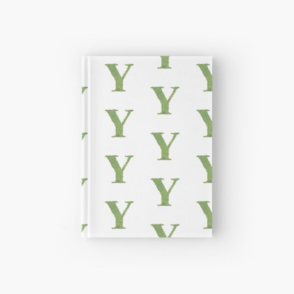 Alphabet Y - Woodland Green Hardcover Journal