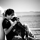 Man and his best friend. by adrianfowlers