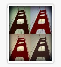 Goldengate Bridge Sticker