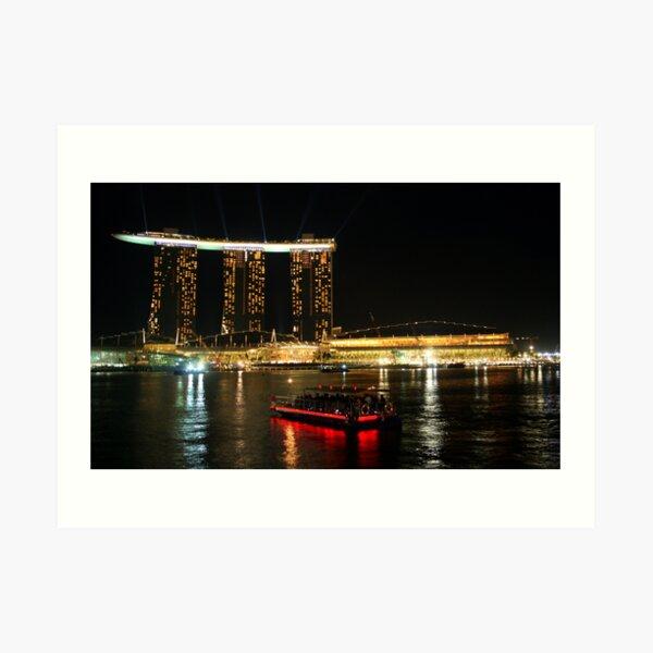 Marina Bay Sands Art Print