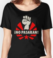 No Pasaran Fist & Star Women's Relaxed Fit T-Shirt