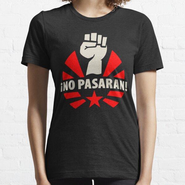 No Pasaran Fist & Star Essential T-Shirt