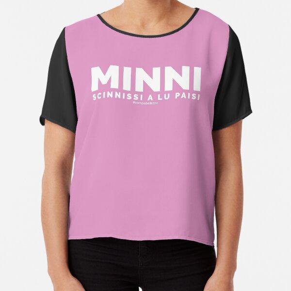 """""""Minni Scinnissi"""" - Pink Chiffon Top"""