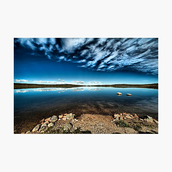 Hardangervidda Blues Photographic Print