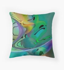 The Sieve at the End of the Rainbow Throw Pillow