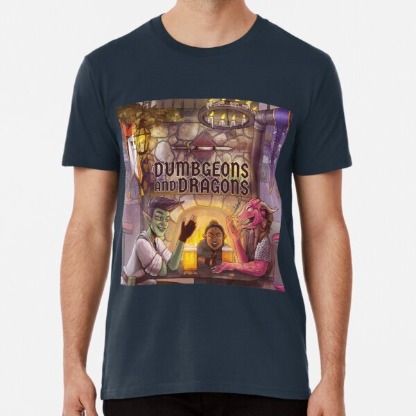 Dumbgeons & Dragons Season 2 Premium T-Shirt