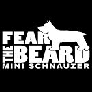 Fear the Beard - Funny Gifts for German Wirehaired Pointer Lovers by traciwithani