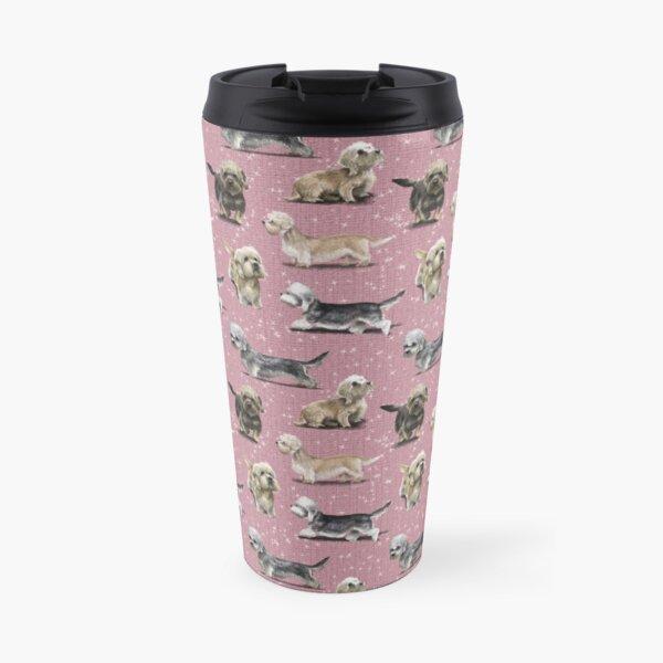 The Dandie Dinmont Pink Travel Mug